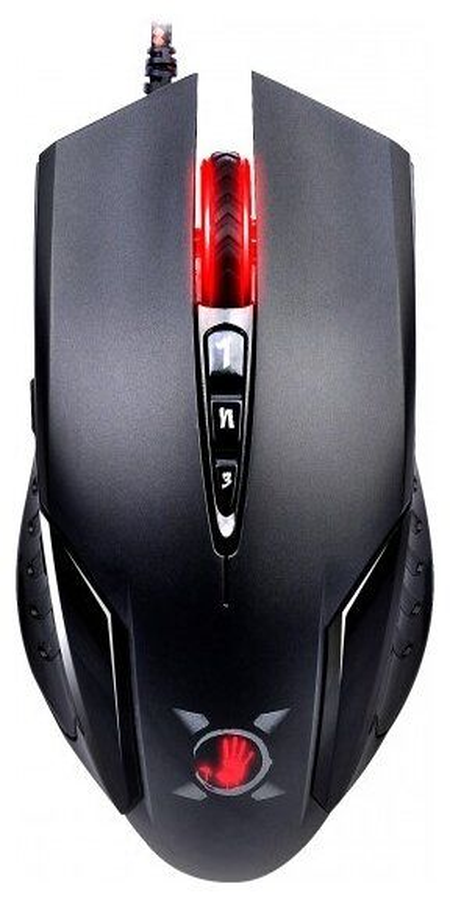 Мышь A4 Bloody V5 оптическая проводная USB, черный