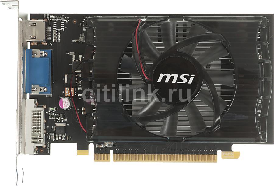 Видеокарта MSI GeForce GT 630,  1Гб, DDR3, Ret [n630gt-md1gd3]