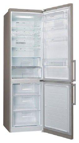 Холодильник LG GA-E489EAQA,  двухкамерный,  серебристый