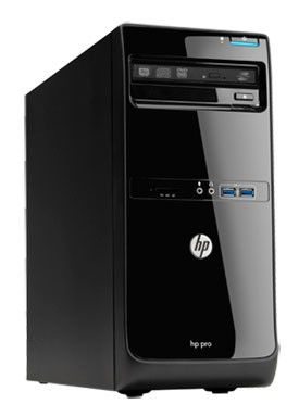 Компьютер  HP Pro 3500 MT,  Intel  Core i3  2120,  DDR3 4Гб, 500Гб,  Intel HD Graphics 2000,  DVD-RW,  Windows 7 Professional,  черный [qb292ea]