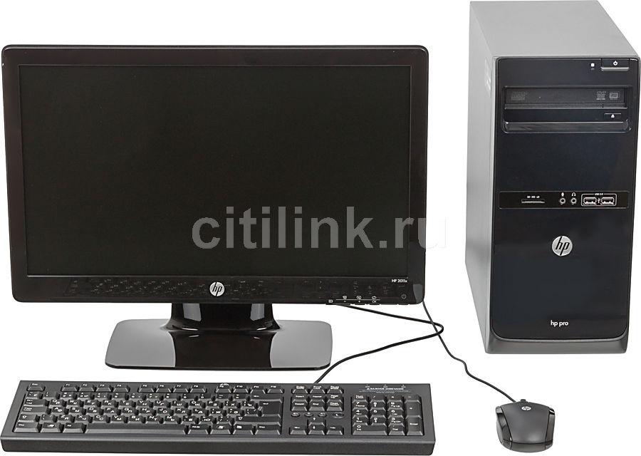 Компьютер  HP Pro 3500 MT + монитор 2011x (комплект),  Intel  Pentium  G640,  DDR3 2Гб, 500Гб,  Intel HD Graphics,  DVD-RW,  CR,  Free DOS,  черный [qb302ea]