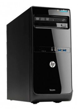Компьютер  HP Pro 3500 MT + монитор 2011x (комплект),  Intel  Pentium  G640,  DDR3 4Гб, 500Гб,  Intel HD Graphics,  DVD-RW,  Windows 7 Professional,  черный [qb294ea]