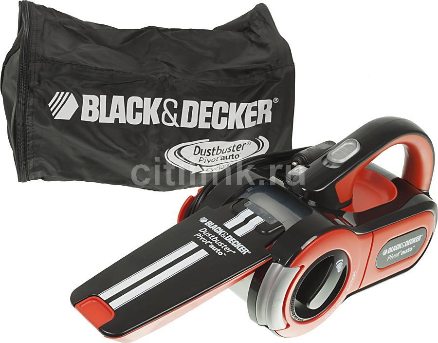 Автомобильный пылесос BLACK & DECKER PAV1205 оранжевый