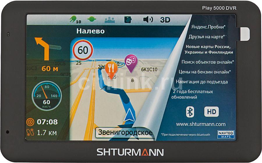 GPS навигатор SHTURMANN Play 5000DVR,  5