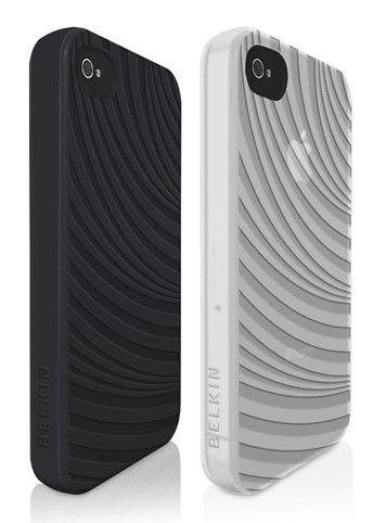 Чехол (клип-кейс) BELKIN F8W034cwC00-2, 2 шт., для Apple iPhone 4/4S, черный