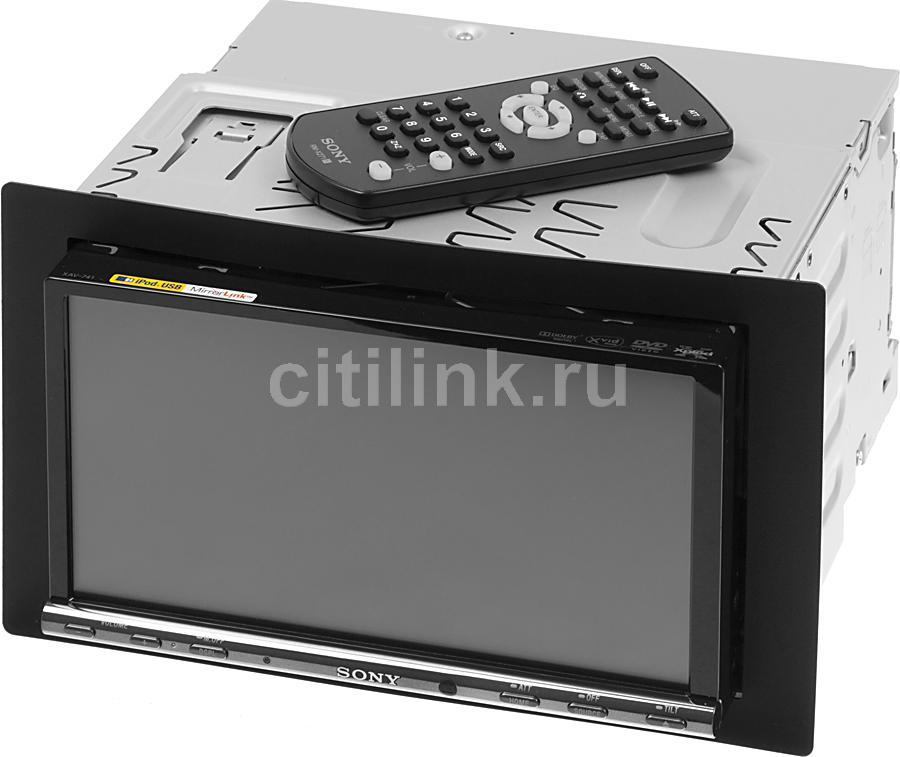 Автомагнитола SONY XAV-741,  USB