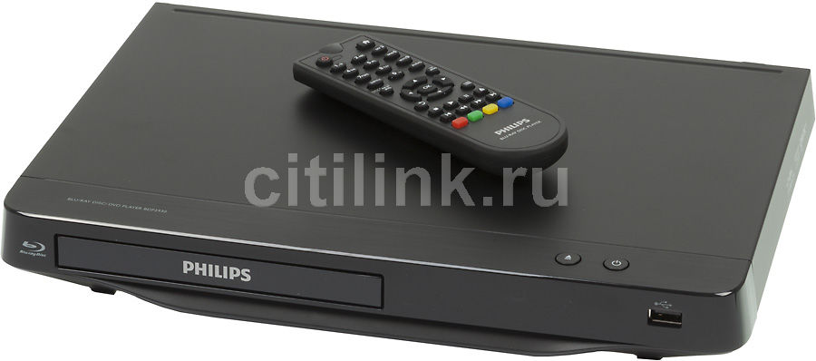 Плеер Blu-ray PHILIPS BDP2930/51, черный