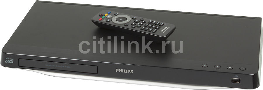 Плеер Blu-ray PHILIPS BDP5500/51, черный