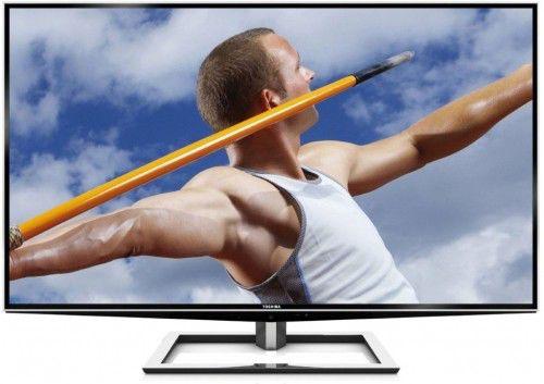 LED телевизор TOSHIBA 55ZL2R REG  3D,  Ultra HD 4K (2160p),  серебристый