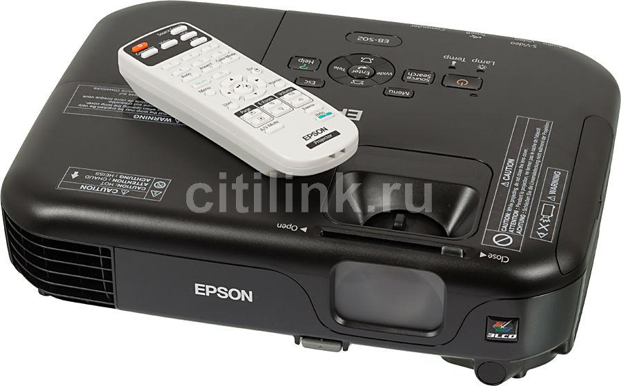 Проектор EPSON EB-S02 черный [v11h433140]