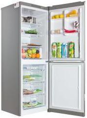 Холодильник LG GA-B379SLCA,  двухкамерный,  серебристый