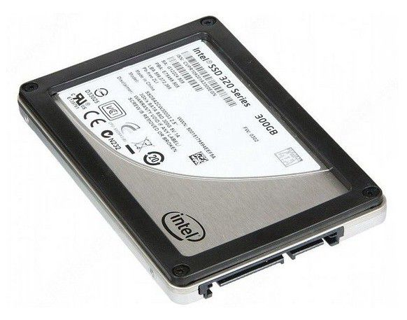 Накопитель SSD INTEL 320 Series SSDSA2CW300G310 300Гб, 2.5
