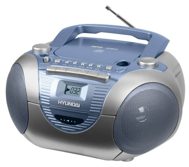 Аудиомагнитола HYUNDAI H-1418,  синий