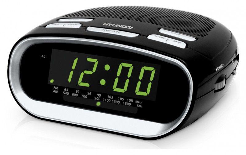 Радиобудильник HYUNDAI H-1512, черный