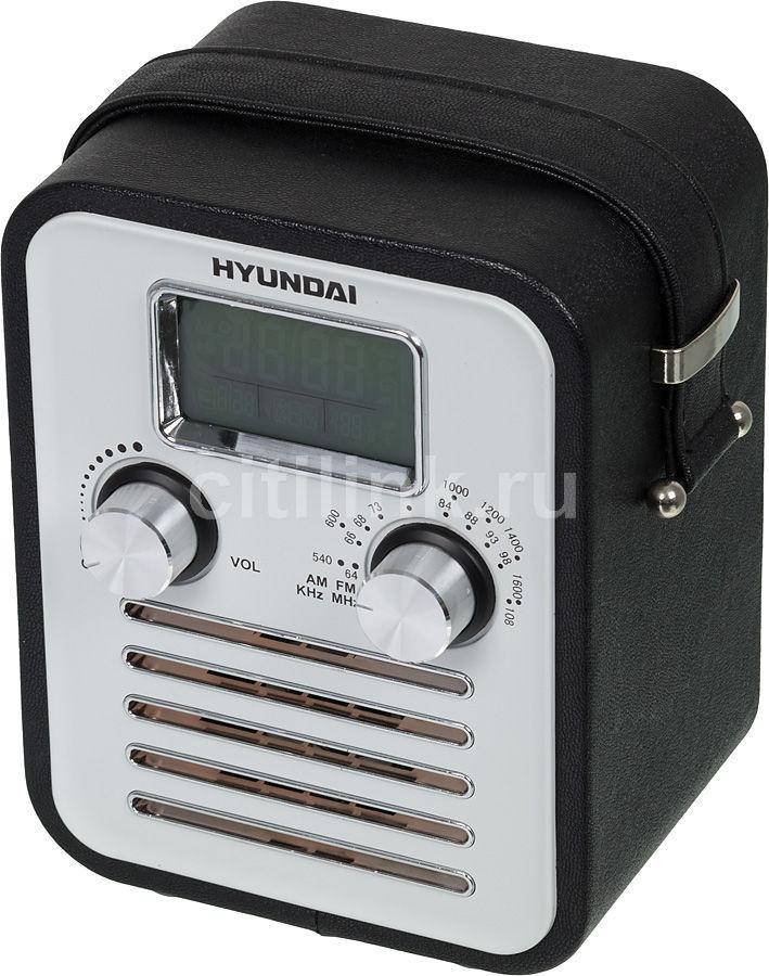 Радиоприемник HYUNDAI H-1623,  черная кожа