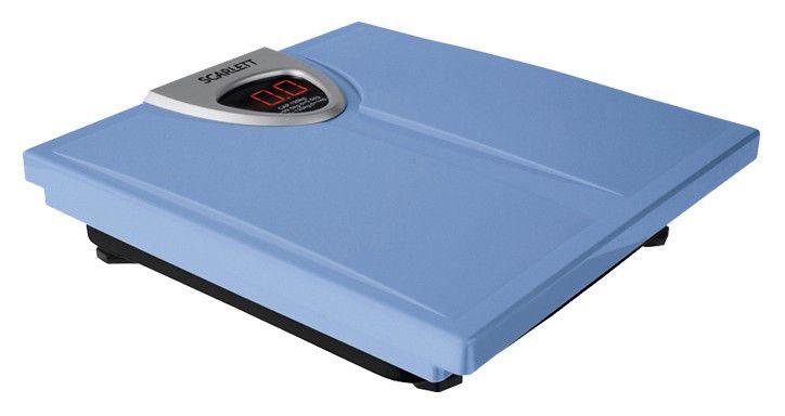 Весы SCARLETT SC218, до 180кг, цвет: синий