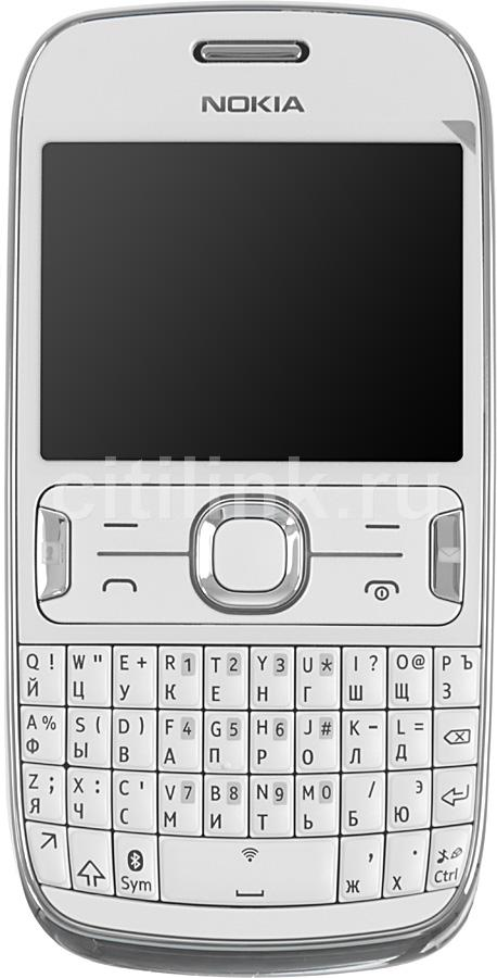 Мобильный телефон NOKIA Asha 302  белый