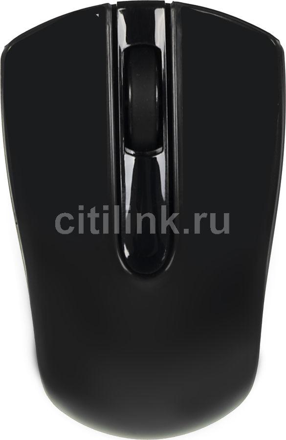 Мышь OKLICK 565SW оптическая беспроводная USB, черный [b005]
