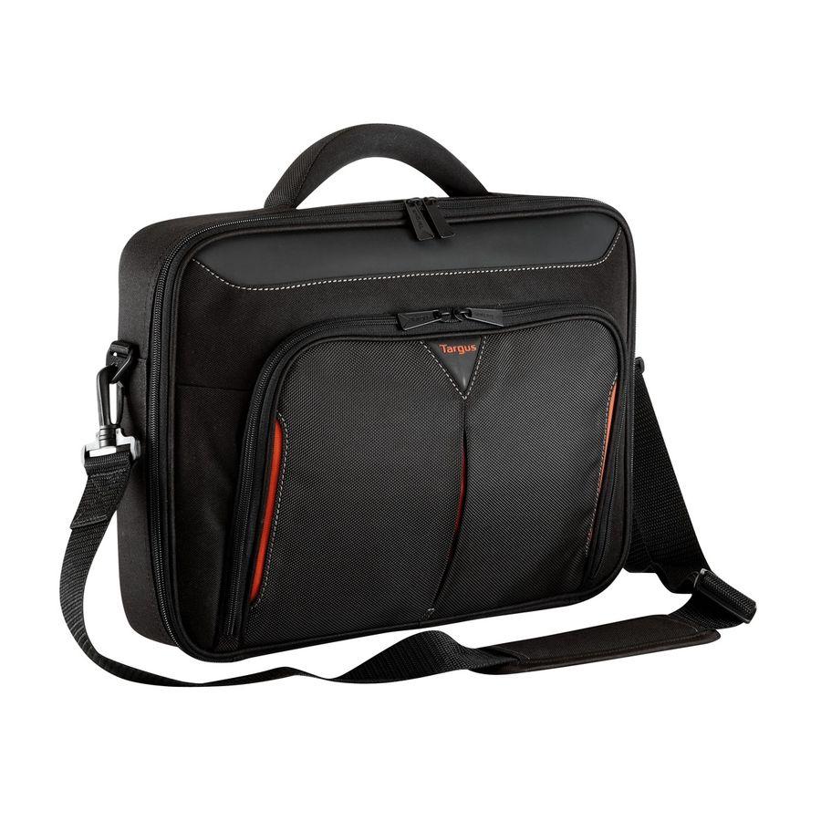 """Сумка для ноутбука 14.1"""" TARGUS CN414EU, черный/красный [cn414eu-50]"""