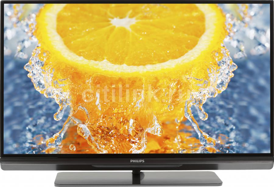 "LED телевизор PHILIPS 32PFL6007T/12  32"", 3D,  FULL HD (1080p),  черный"