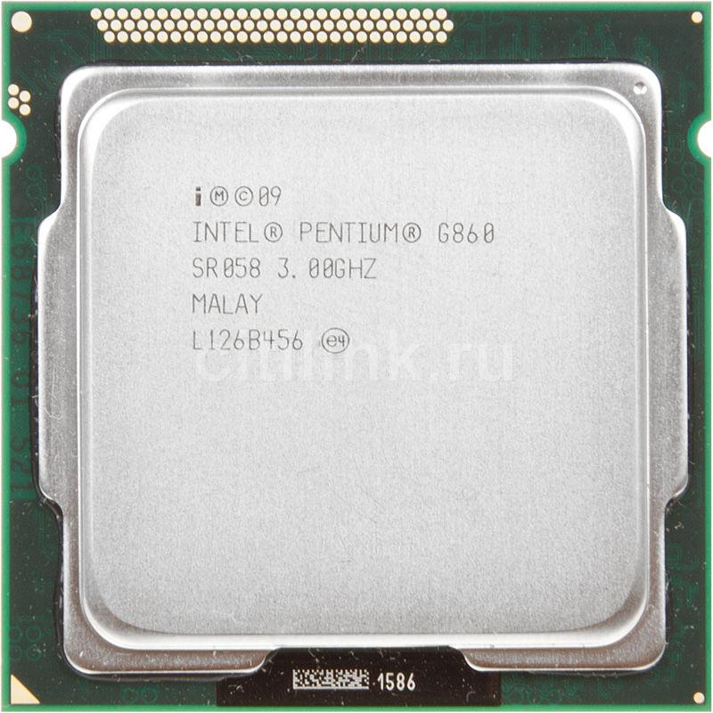 Процессор INTEL Pentium G860, LGA 1155 OEM [cpu intel lga-1155 g860 oem]
