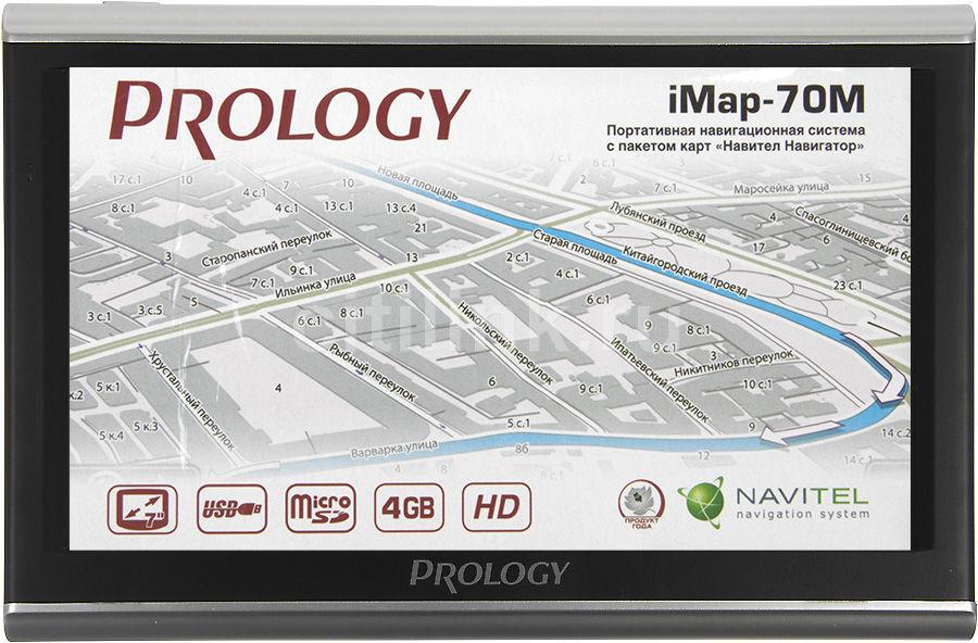 GPS навигатор PROLOGY iMap-70M,  7