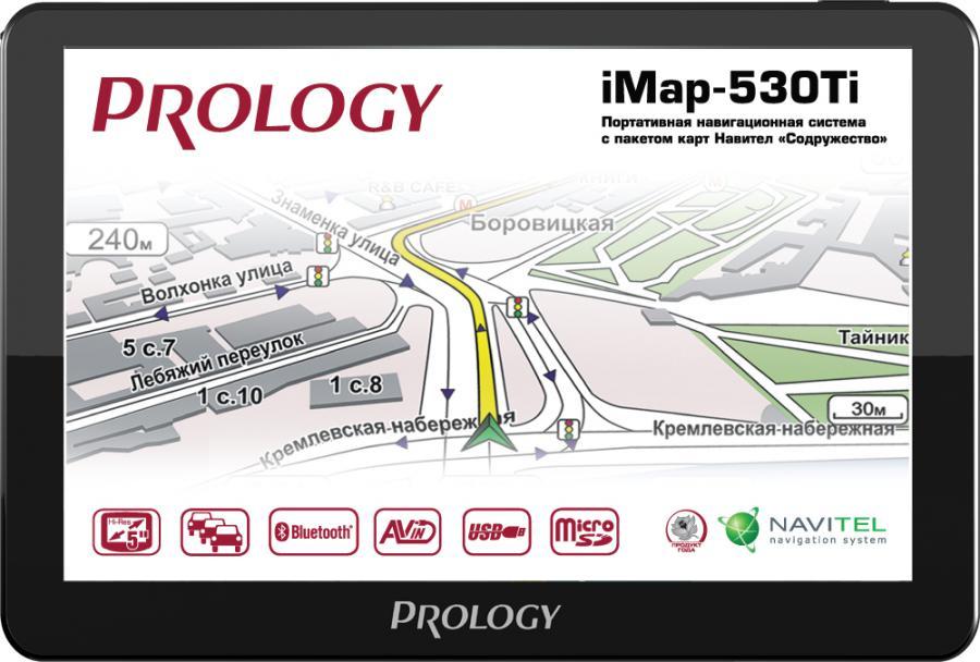 GPS навигатор PROLOGY iMap-530Ti,  5