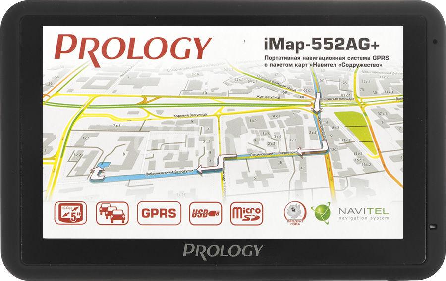 GPS навигатор PROLOGY iMap-552AG+,  5