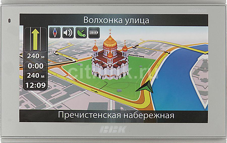 GPS навигатор BBK N5055GS,  5
