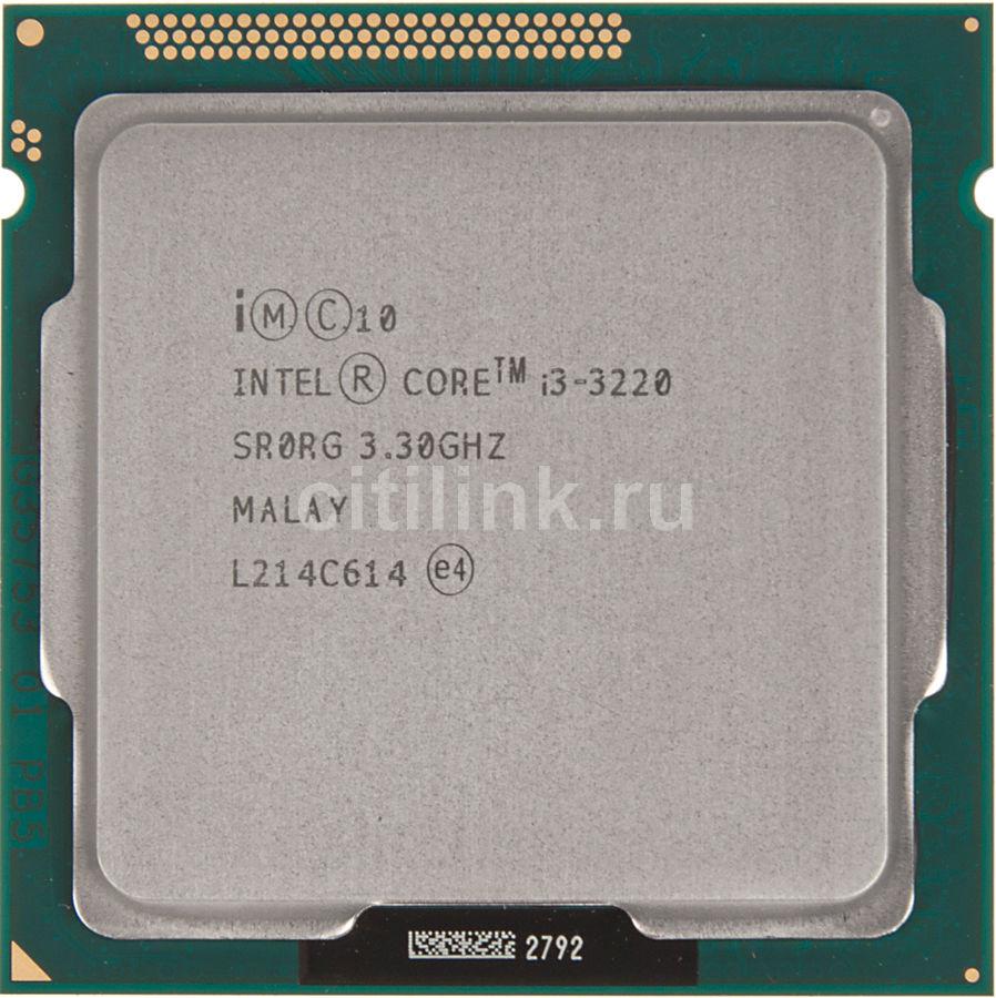 Процессор INTEL Core i3 3220, LGA 1155 * OEM [cm8063701137502s r0rg]