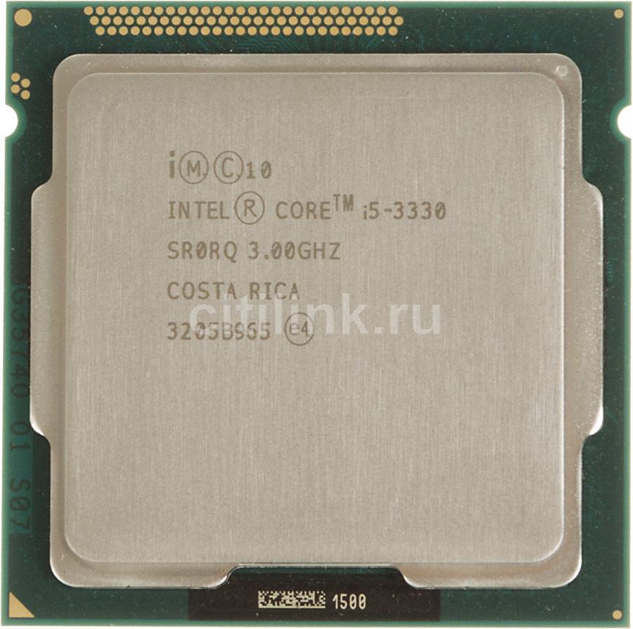 Процессор INTEL Core i5 3330, LGA 1155 OEM [cm8063701134306sr0rq]