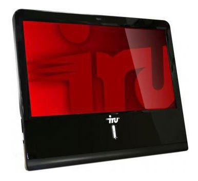 Моноблок IRU 110, Intel Atom D2500, 2Гб, 250Гб, Intel GMA 3600, DVD-RW, Linux, черный