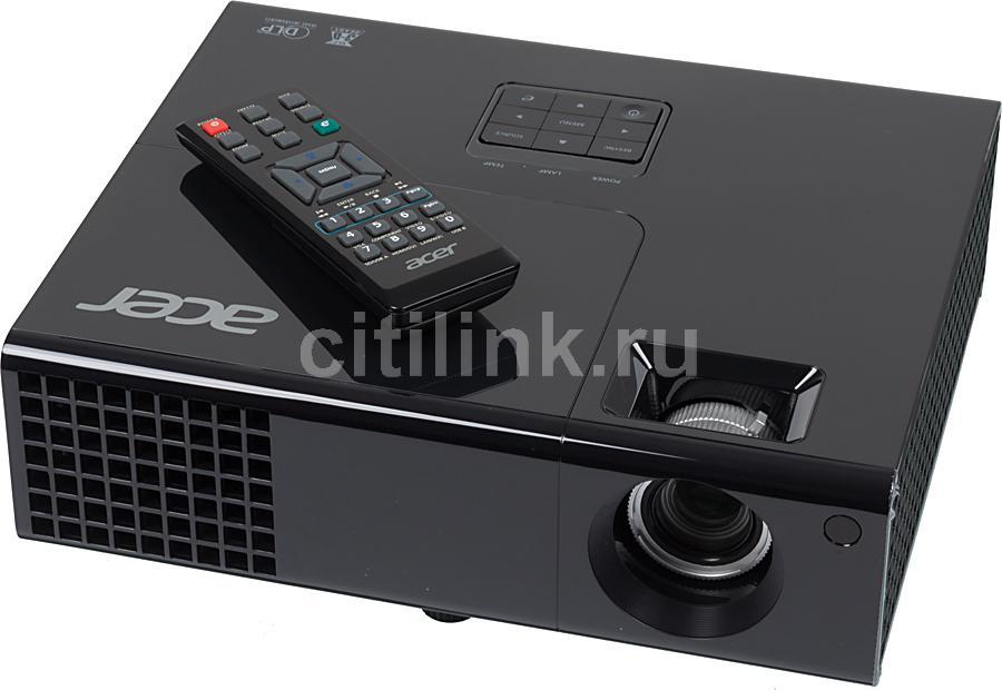 Проектор ACER X1240 черный [mr.jga11.001]