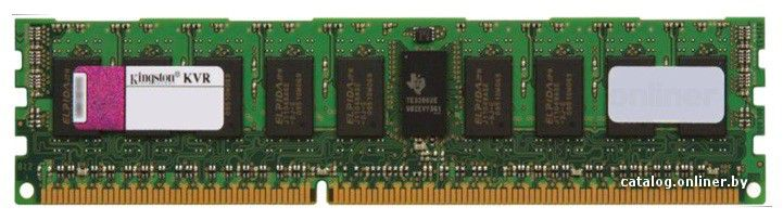 Модуль памяти KINGSTON KVR1066D3D8R7S/4G DDR3 -  4Гб 1066, DIMM,  Ret