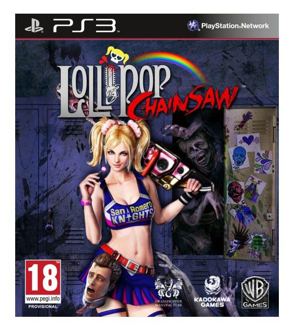 Игра SONY Lollipop Chainsaw для  PlayStation3 RUS (субтитры)