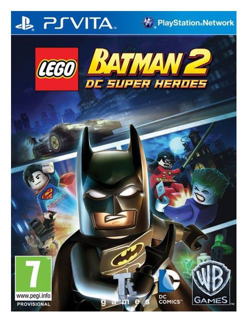 Игра SONY LEGO Batman 2: DC Super Heroes для  PlayStation Vita RUS (субтитры)