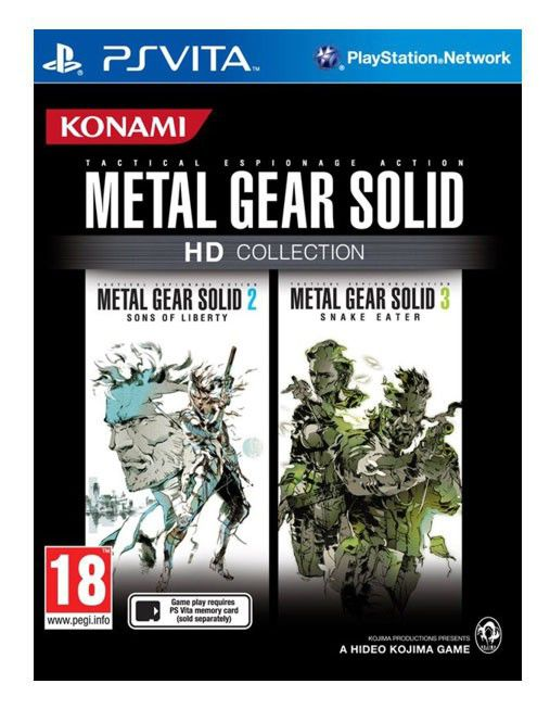 Игра SONY Metal Gear Solid HD Collection для  PlayStation Vita Eng