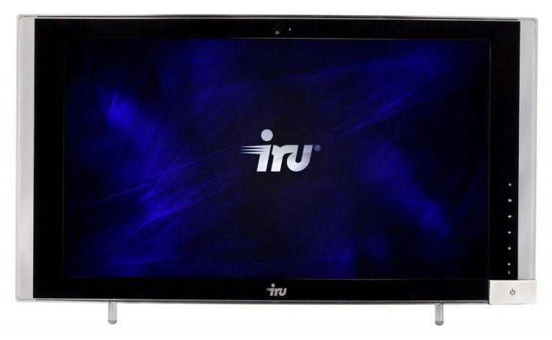 Моноблок IRU 305, AMD Turion II M640, 4Гб, 500Гб, ATI Radeon HD 5430 - 1024 Мб, DVD-RW, Free DOS, черный