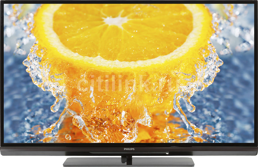 "LED телевизор PHILIPS 42PFL6007T/60  ""R"", 42"", 3D,  FULL HD (1080p),  черный"