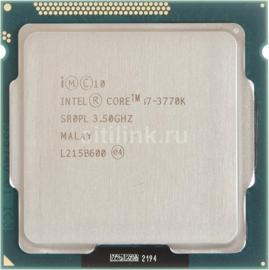 Процессор INTEL Core i7 3770K, LGA 1155 OEM /665941/ [cpu intel lga1155 i7-3770k oem]