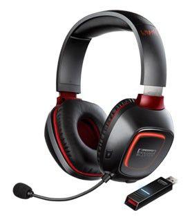 Наушники с микрофоном CREATIVE Tactic 3D Wrath,  70GH018000001,  мониторы, радио,  черный