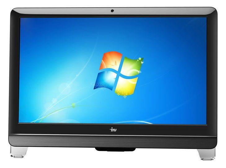 Моноблок IRU 303, Intel Core i3 2120, 4Гб, 500Гб, Intel HD Graphics 2000, DVD-RW, Windows 7 Professional, черный