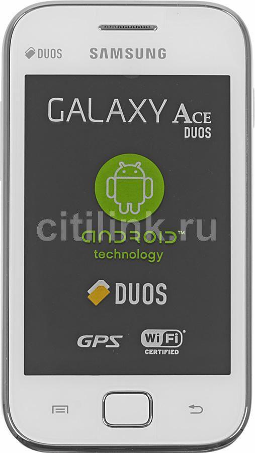 Смартфон SAMSUNG Galaxy Ace Duos GT-S6802  белый
