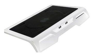 "Подставка для ноутбука Titan TTC-G25T/W2 17""384x312x54мм 20дБ 2xUSB 1x 200ммFAN металлическая сетка/"