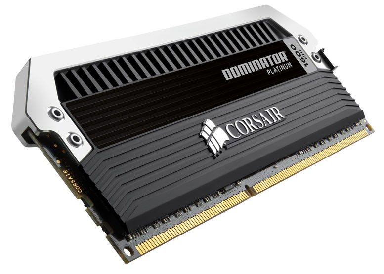 Модуль памяти CORSAIR DOMINATOR PLATINUM CMD8GX3M2A1600C8 DDR3 -  2x 4Гб 1600, DIMM,  Ret