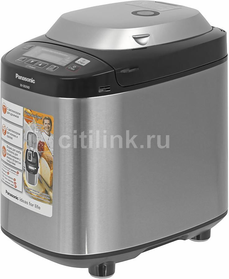 Хлебопечь PANASONIC SD-ZB2502BTS,  серебристый