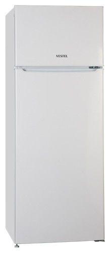 Холодильник VESTEL VDD260VW,  двухкамерный,  белый