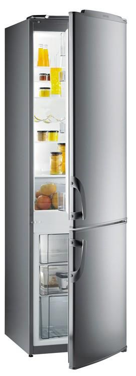 Холодильник GORENJE RKV42200E,  двухкамерный,  серебристый