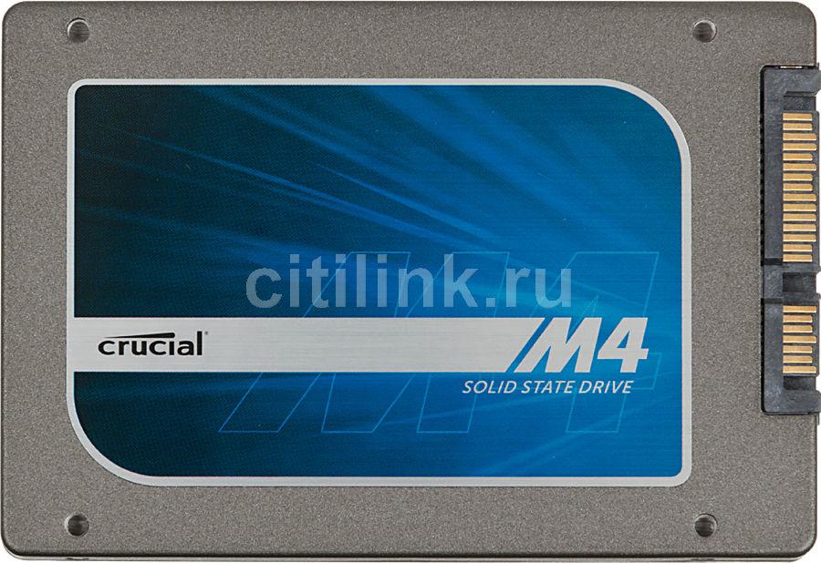 Накопитель SSD CRUCIAL M4 CT128M4SSD2BAA 128Гб, 2.5