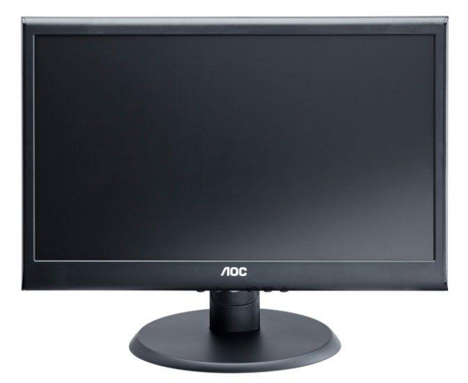 Монитор ЖК AOC Е2050S черный